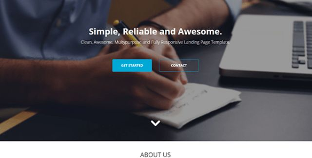 Bootstrap Landing Page Templates - BootstrapBay