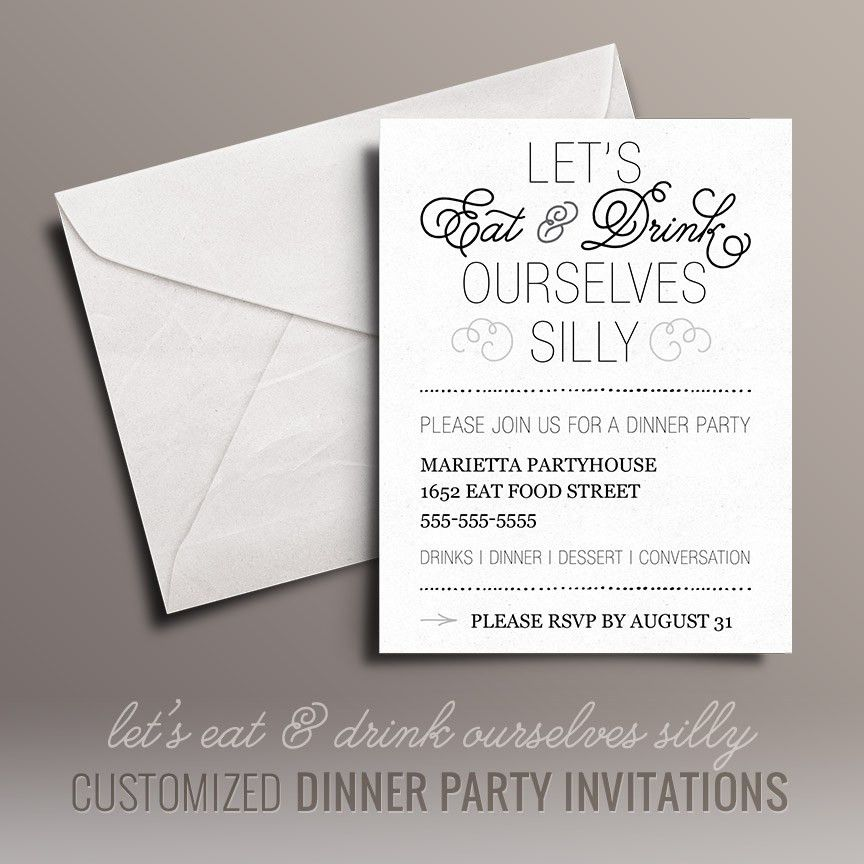 Marvellous Christmas Dinner Party Invitations Free Given Luxurious ...