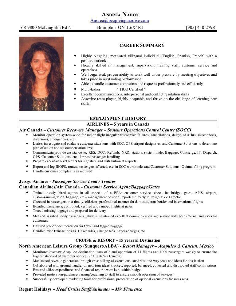 airport customer service resume best customer service resume ...