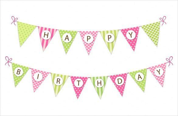 Birthday Banner Template – 22+ Free PSD, AI, Vector EPS ...