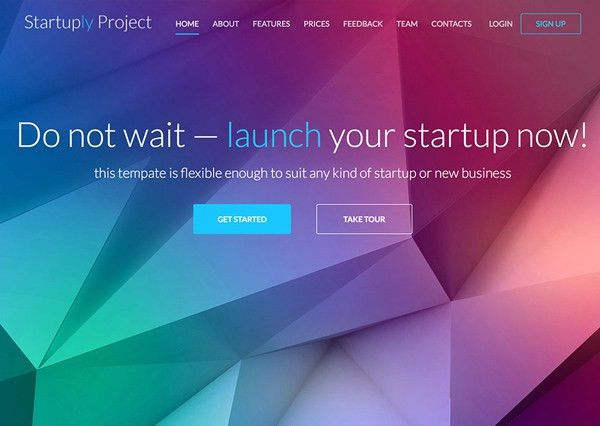 One Page Website Designs – 30 Fresh Examples   Web Design ...