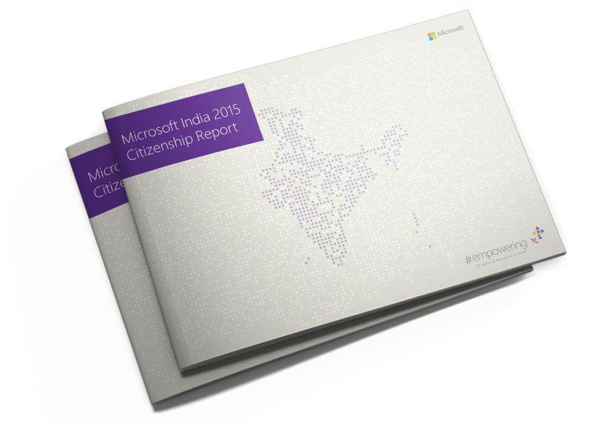 Microsoft Annual Report 2015   The Illustrators