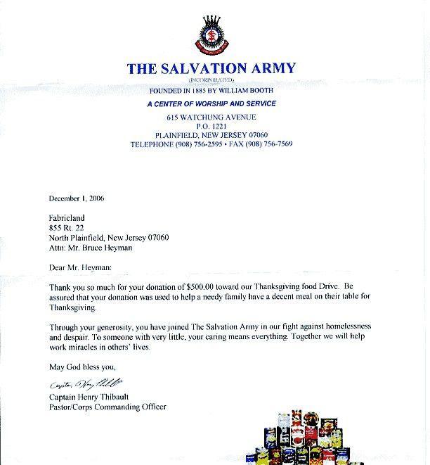 Community Service Letter | articleezinedirectory