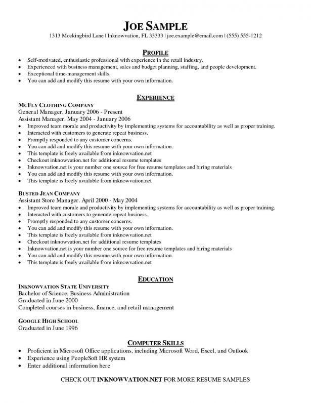 Resume : Cv Templates 61 Free Samples Examples Format Download ...