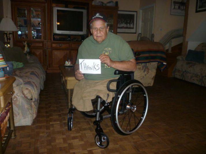 Lowe's Employees Fix Veteran Wheelchair - Business Insider