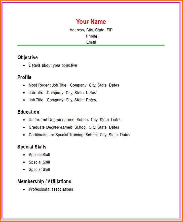 resume template word 2010 free download resume templates for - Free Downloadable Resume Templates For Word 2010