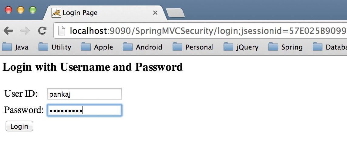 Spring Security Example UserDetailsService - JournalDev
