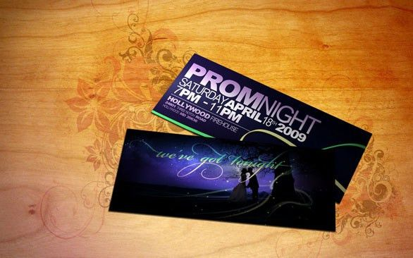 32 Excellent Ticket Design Samples Uprinting. Ticket Take A Seat .  Prom Tickets Design