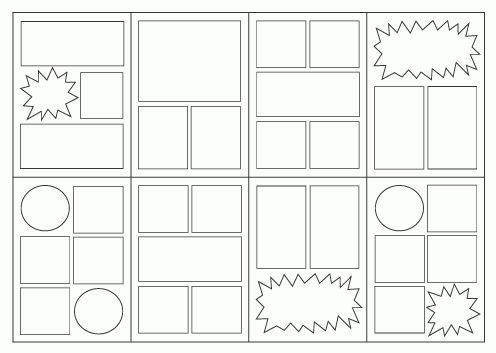 Comic Book Styles And Layouts | Comic, Yearbooks and Books