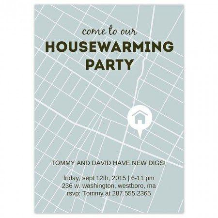 Housewarming Party Invitation | christmanista.com