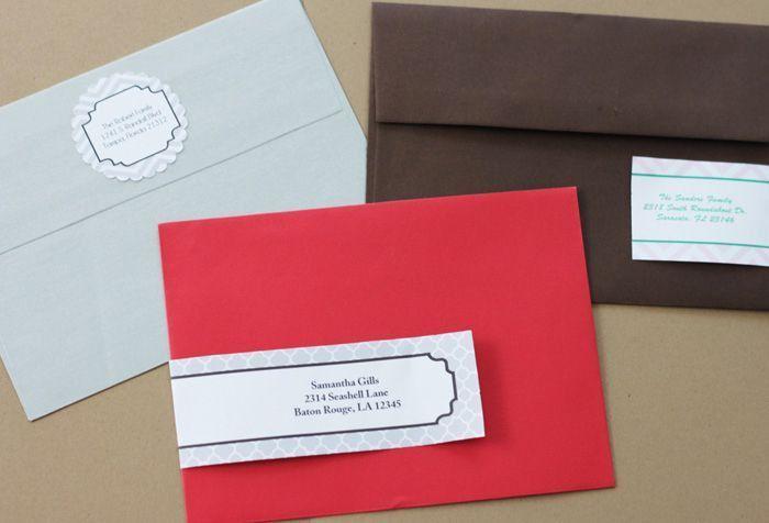 13 Sets of Free Address Label Templates