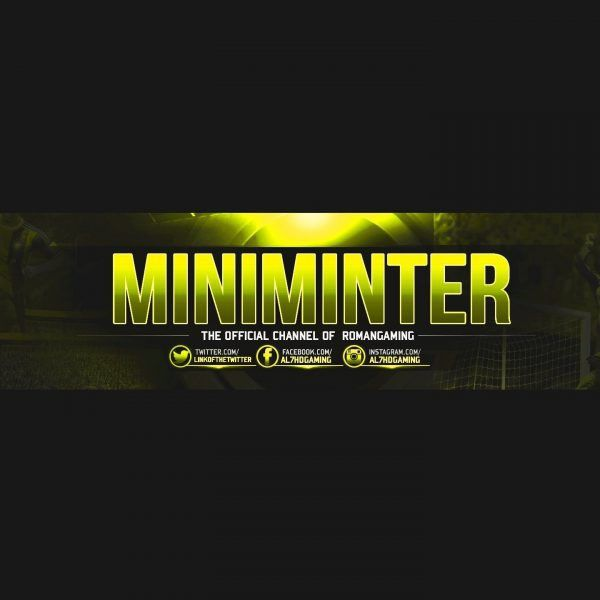 Free Gfx: Gaming Youtube Banner Template – Free Psd File with ...