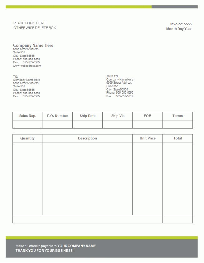 12+ invoice template microsoft word | Invoice Template Download