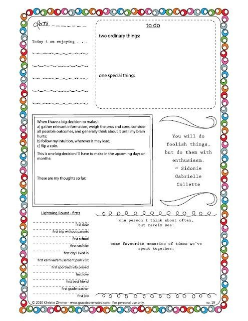 FREE JOURNAL TEMPLATES   Printable and Planners   Pinterest ...