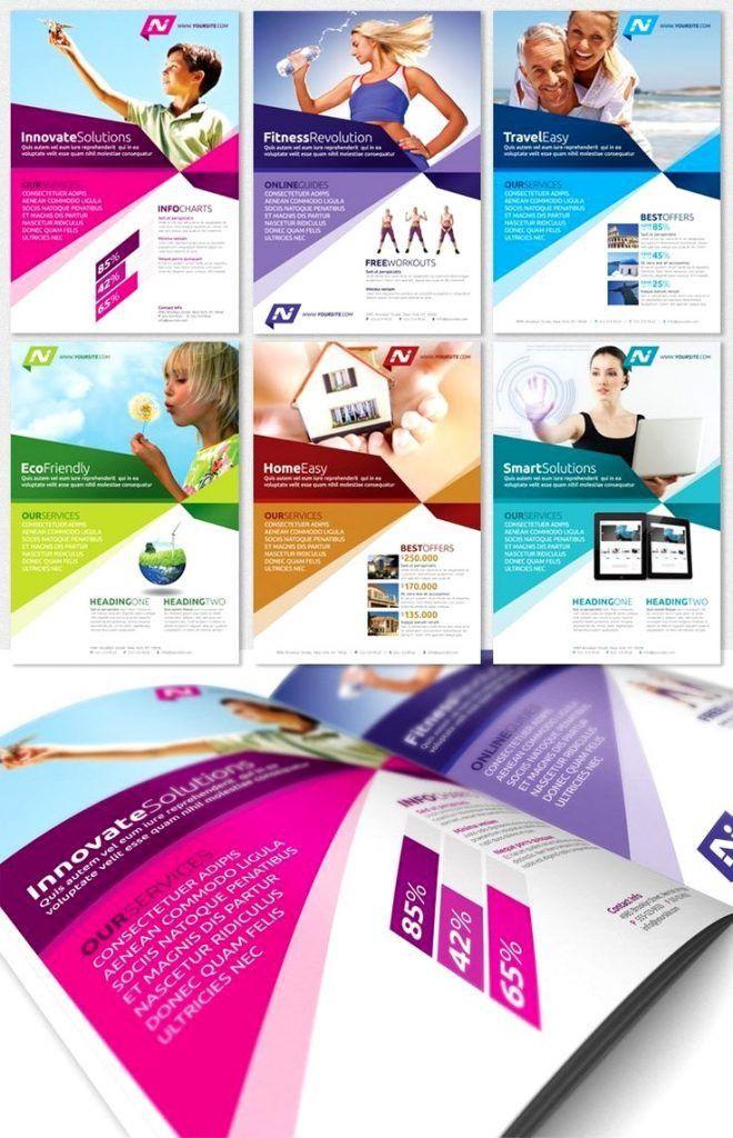 Advertising Flyer Template 40 Best Premium Psd Business Simple ...