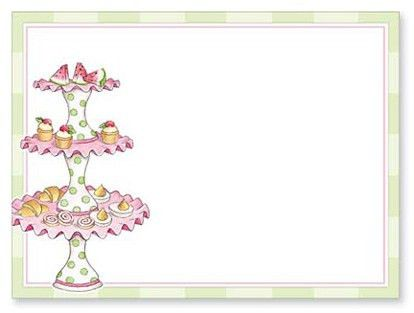 Tea Party Invitation Template - cloveranddot.Com