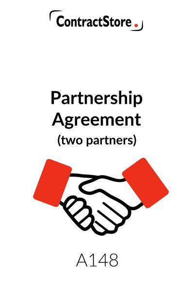 Partnership Agreement (2 Partners) | ContractStore