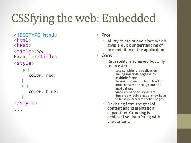 CSS Overview and Examples