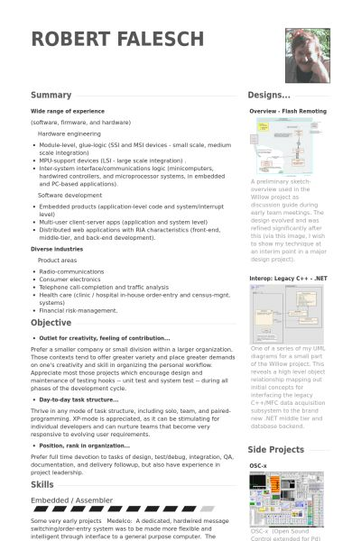 Principal Consultant Resume samples - VisualCV resume samples database