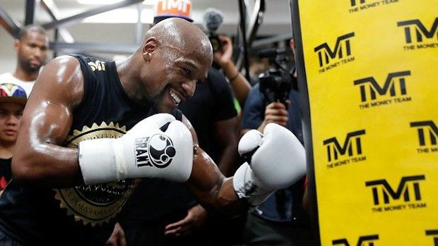 The amount Mayweather will earn on clothing sponsorship, and how ...