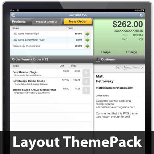 FileMaker Templates - FileMaker Layout Themes