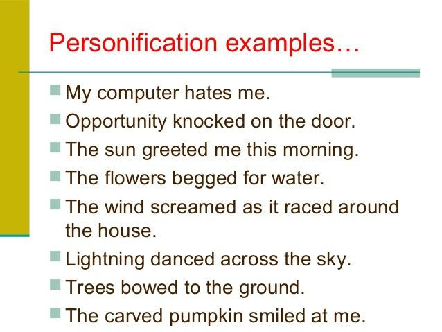 NEW EXAMPLES OF PERSONIFICATION IN HUSWIFERY | example