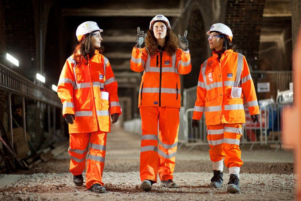 The Crossrail women building Europe's largest infrastructure ...