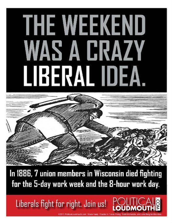 While you're celebrating Labor Day . . . | Politics, Labor union ...