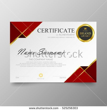 Modern Certificate Stock Images, Royalty-Free Images & Vectors ...