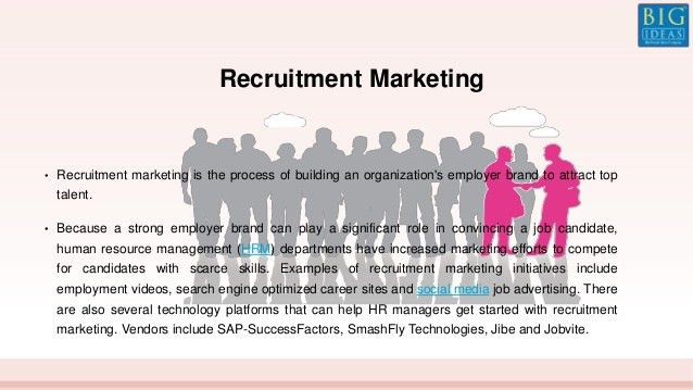 Recruitment Industry By Big Ideas