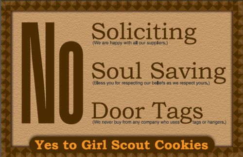 No Soliciting Door Sign Free Printable | Worldlabel Blog