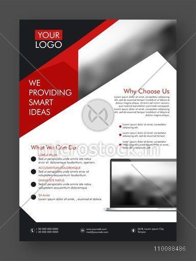 Professional One Page Business Flyer, Banner, Template or ...