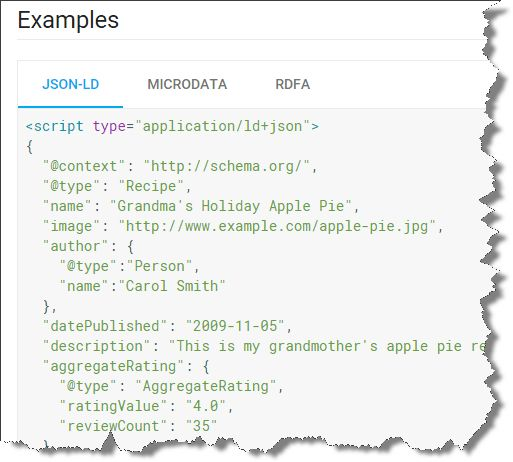 First Rich Snippets from JSON-LD Spotted in the Wild