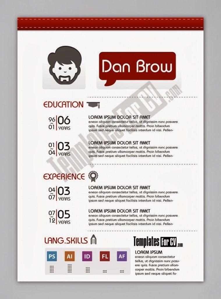 contoh cv format word free download template cv kreatif 30 desain ...