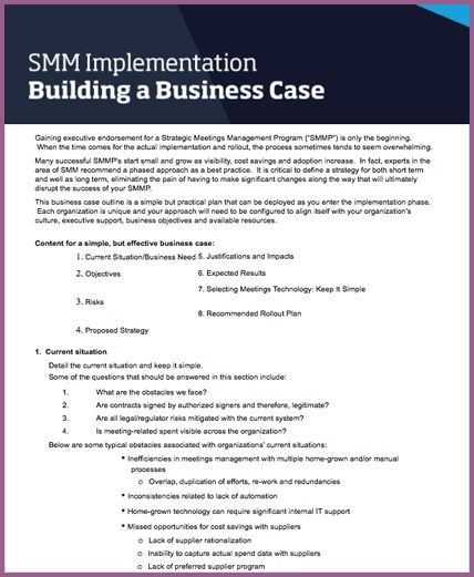 BUSINESS CASE TEMPLATE | designproposalexample.com