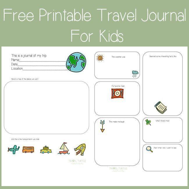 57 best * Travel Journals - Continental Kid images on Pinterest ...