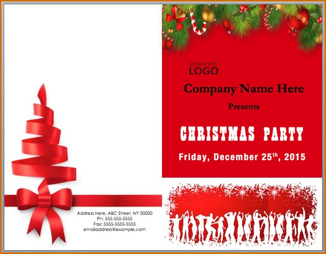 12+ free christmas templates for word | Authorizationletters.org