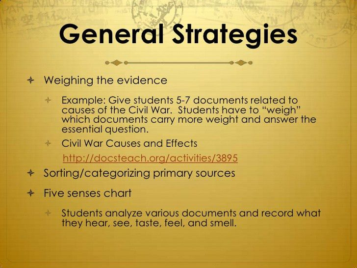 Primarily Teaching: Teaching with Primary Sources