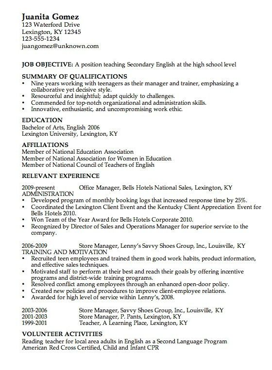 Stay At Home Mom Resume Template. Stay At Home Mom Resume Template ...
