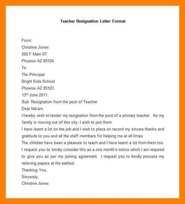 6+ letter of resignation template word | noc certificate