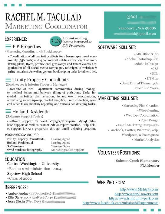 43 best CV Formats images on Pinterest | Cv design, Resume ideas ...