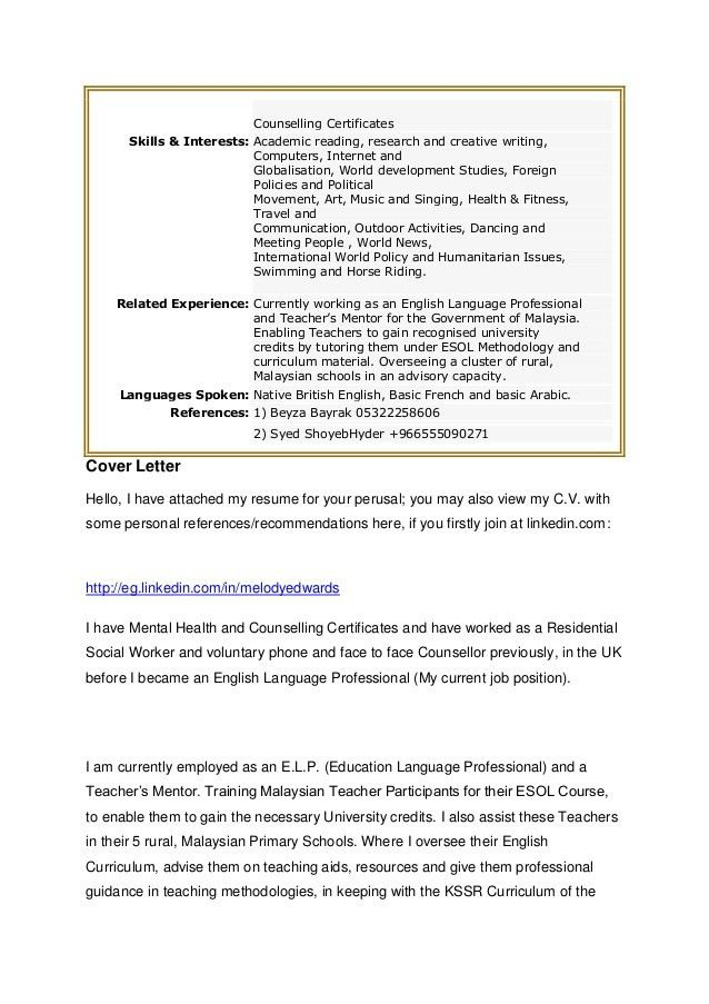 example of covering letter for resume leading professional civil ...