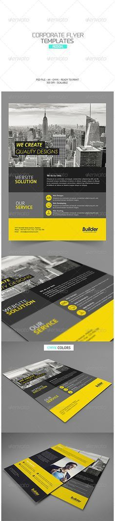 Corporate Flyer Template PSD | Buy and Download: http ...
