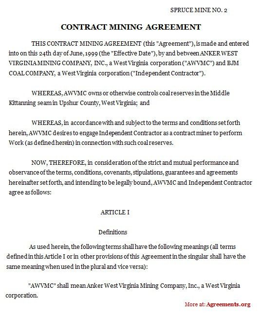 Sample Contractual Agreement. Sample Speaking Contract O'Hanlon ...