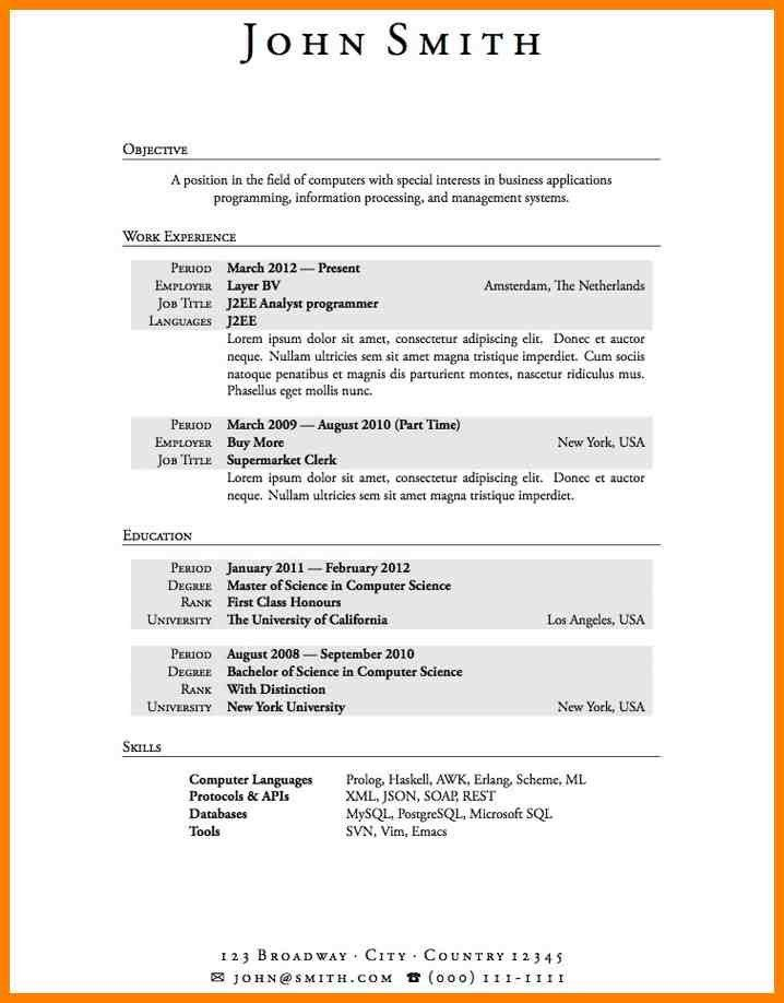 resume sample for a technical instructor susan ireland resumes ...