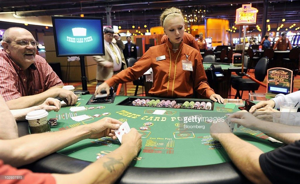 Sands Opens Up Table Games At Casinos Photos and Images | Getty Images