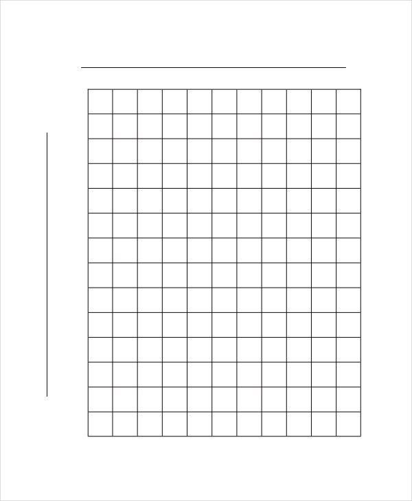 Graph Paper Template - 8+ Free Word, PDF Documents Download | Free ...