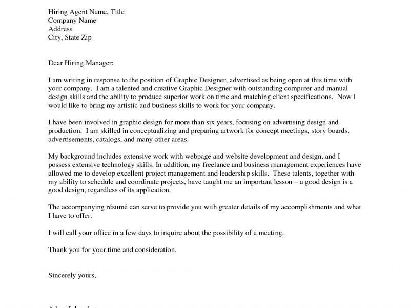 Extraordinary Design Cover Letter For Graphic Designer 12 Sample ...