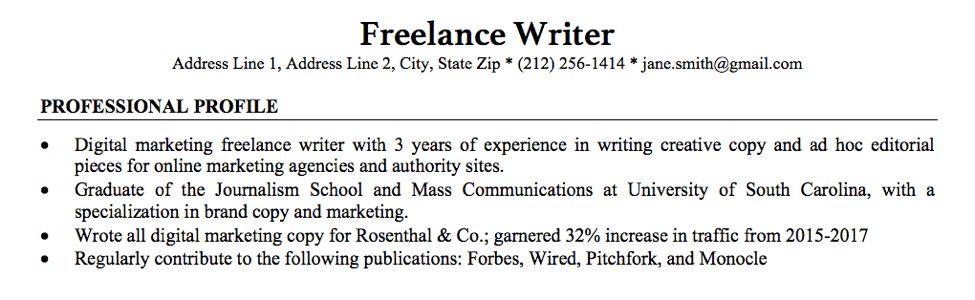 Do Freelance Writers Really Need Resumes? - Freelancer FAQs