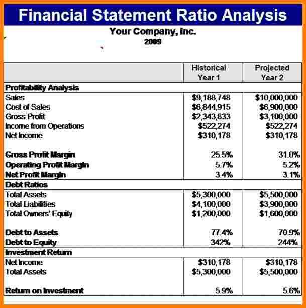 5+ financial statement analysis example | Case Statement 2017